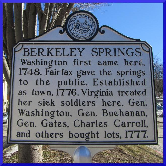 Berkeley Springs Sign g1